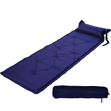 Almofada de Dormir Tapete de Ar Ao ar livre Á Prova de Humidade Prova-de-Água Secagem Rápida Inflado Retangular Poliéster PVC Caça