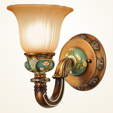 מגן עין פשוט מנורות קיר סלון מתכת אור קיר 220V 5 W / E27