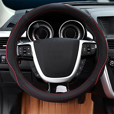 voordelige Auto-interieur accessoires-Auto-stuurhoezen aitoa nahkaa 38cm blauw / Rood / Beige Voor Ford Focus / Escort / Mondeo Alle jaren