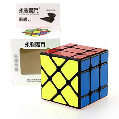 Rubiks kube YONG JUN Alien Fisher Cube 3*3*3 Glatt Hastighetskube Magiske kuber Kubisk Puslespill profesjonelt nivå Hastighet Gave
