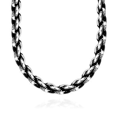voordelige Herensieraden-Heren Kraag meetkundig Modieus Roestvast staal Roestvrij staal Zilver Kettingen Sieraden 1 Voor Lahja Dagelijks