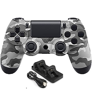 מטען / בקר משחק עבור PS4 ,  ידית משחק מטען / בקר משחק מתכת / ABS 1 pcs יחידה