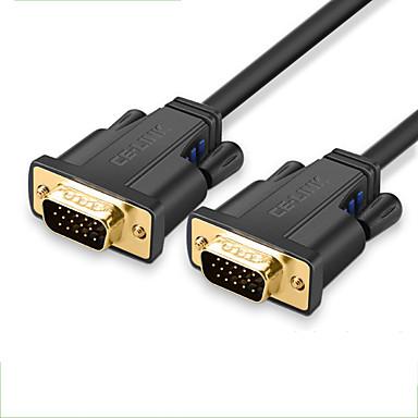 CE-Link VGA כבל, VGA ל VGA כבל זכר-זכר 1.0m (3ft)