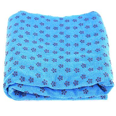 Polyester Yoga Havlu Mat Çantaları Kokusuz Çevre-dostu Kaymaz Su Geçirmez Yapışkan Non Toxic Hızlı Kuruma 3 mm için