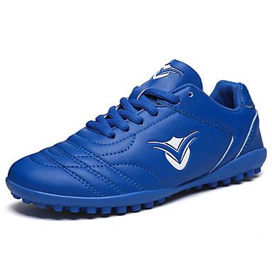 בגדי ריקוד גברים נעלי נוחות PU אביב / סתיו נעלי אתלטיקה כדורגל צהוב / ירוק בהיר / כחול ים