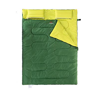 Naturehike Saco de dormir Ao ar livre Casal (L200 cm x C200 cm) 5 °C Largura Dupla Portátil / Manter Quente / Grossa para