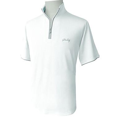 בגדי ריקוד גברים גולף טי שירט ייבוש מהיר / נשימה / לביש גולף / פעילות חוץ ספורט וחוץ