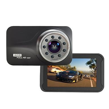 tanie DVR samochodowe-9 sztuk ir światła night vision nowatek ntk96223 fhd 1080 p g-sensor 170 stopni 3 calowy samochód dvr t639 dash camera samochodów detektor