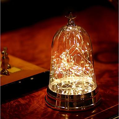 1pc LED לילה אור סוללות AAA גע בחיישן / עם יציאת USB / ליד המיטה
