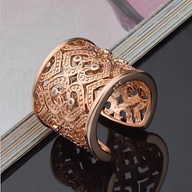 Χαμηλού Κόστους Μοδάτο Δαχτυλίδι-Γυναικεία Δακτύλιος Δήλωσης Δέσε Ring δαχτυλίδι αντίχειρα Καρδιά Love κυρίες Πολυτέλεια Μοναδικό Κομψό Νυφικό Ασήμι Στερλίνας Στρας Μοδάτο Δαχτυλίδι Κοσμήματα Χρυσό / Ασημί Για