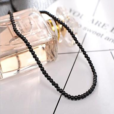 תכשיטים DIY 95 יח חרוזים דמוי פנינה לבן שחור ורוד פנינה ורוד בהיר עגול מיני חָרוּז 0.3 cm עשה זאת בעצמך שרשראות צמידים
