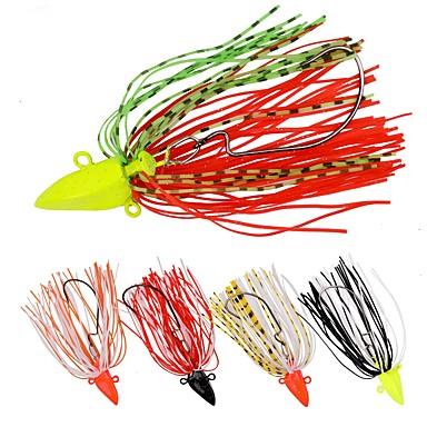 5 pcs פתיונות דיג פתיונות דיג ופתיונות באז וספינר Paillette חוץ דיג בים / דיג בפתיון / חכות וסירת דיג