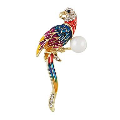 בגדי ריקוד נשים תפס לשיער - Parrot פשוט, אופנתי סִכָּה זהב עבור יומי / ליציאה