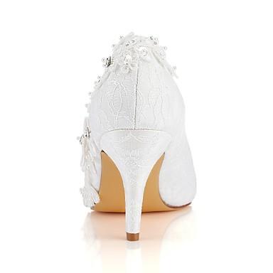 de Perle Escarpin Satin Femme mariage Basique Chaussures Automne Chaussures Bout Aiguille Talon Printemps Cristal 06489147 rond Elastique pXwfxZ8qw