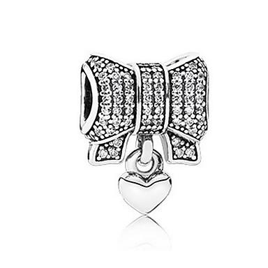 Devoto Gioielli Fai-da-te 1 Pezzi Perline Diamanti D'imitazione Lega Argento A Fiocchetto Perlina 0.5 Cm Fai Da Te Collana Bracciali #06525716 Buono Per L'Energia E La Milza