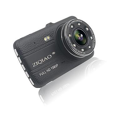 abordables DVR de Coche-ziqiao jl-17 4,0 pulgadas full hd 1080p ips pantalla doble grabación amplia dinámica coche dvr cámara registrador de video registrador hdr g-sensor dash cam dvr