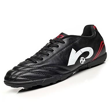 נעלי נוחות PU אביב / סתיו נעלי אתלטיקה כדורגל שחור / כחול
