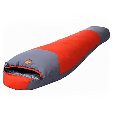 Shamocamel® Slaapzak Mummy Eenden Dons -10°C Houd Warm Ultra Licht(UL) Compressie 220X80 Wandelen Kamperen Voor buiten Shamocamel® Enkel