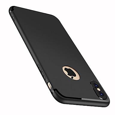 hesapli iPhone Kılıfları-Pouzdro Uyumluluk Apple iPhone X / iPhone 8 Plus / iPhone 8 Buzlu Arka Kapak Solid Yumuşak TPU