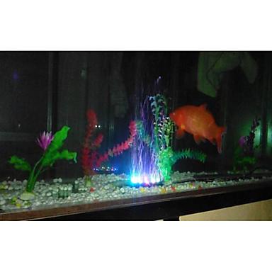 abordables Aquarium & Accessoires pour Poisson-Aquarium Décoration d'aquarium / Puce LED / Lumière Sous-marine Plusieurs Couleurs Etanche Lampe à LED 220 V V /