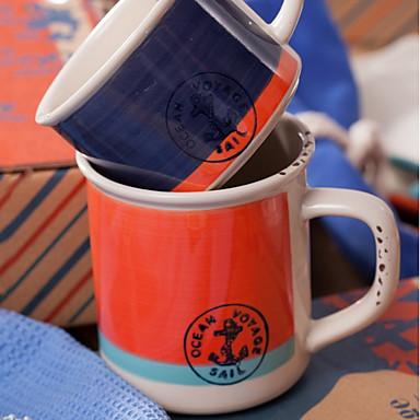 drinkware חַרְסִינָה גביע אבק חיזוק חום 2 pcs
