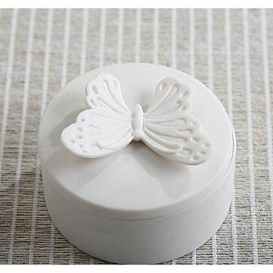 מעגלי קרמי מחזיק לטובת עם דוגמא \ הדפס קופסאות קישוט - 1pc
