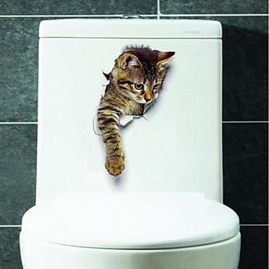 Cosciente Animali Adesivi Murali Adesivi 3d Da Parete Adesivi Toilet, Vinile Decorazioni Per La Casa Sticker Murale Water #06547876 Un Rimedio Sovranazionale Indispensabile Per La Casa