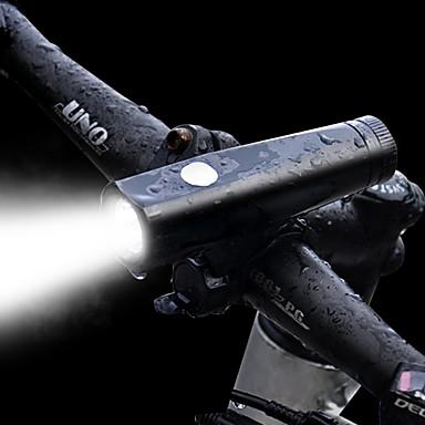 פנס LED / פנס קדמי לאופניים LED LED רכיבת אופניים SOS, עם נמל טעינה סוללה ניתן לטעינה מחדש 1000 lm מובנה Li-Battery מופעל לבן מחנאות / צעידות / טיולי מערות / רכיבה על אופניים