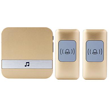 דינג דונג מוסיקה צלצול פעמון דו - פעמי צליל מתכווננת אלחוטי פעמון הדלת 300 משטח מורכב