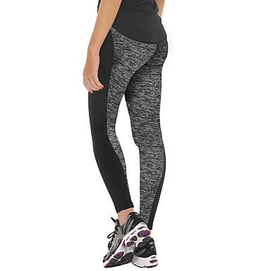 calças de yoga Moletom CalçasRespirável Térmico/Quente Permeável á Humidade Alta Respirabilidade (>15,001g) Compressão Elástico