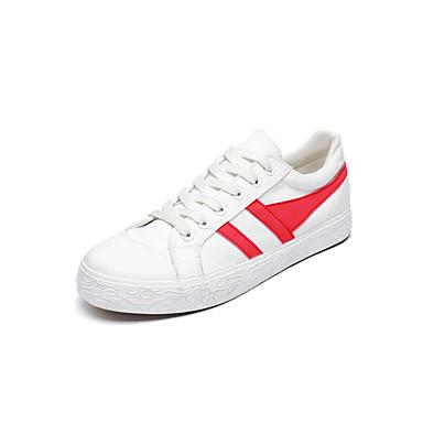 Men's Light Soles Fabric Spring / Fall Sneakers Silver / Black Pink / White / Black / / White ba402f