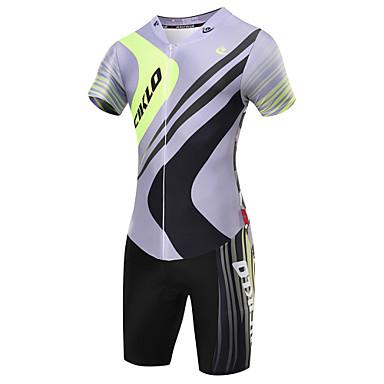 Malciklo Camisa com Shorts para Ciclismo Homens Manga Curta Moto Triatlo Roupas de Compressão Conjuntos de Roupas Roupa de Ciclismo