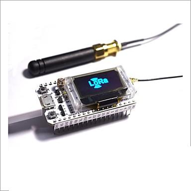 868mhz-915mhz sx1276 esp32 לורה 0.96 אינץ 'כחול להציג wifi lora