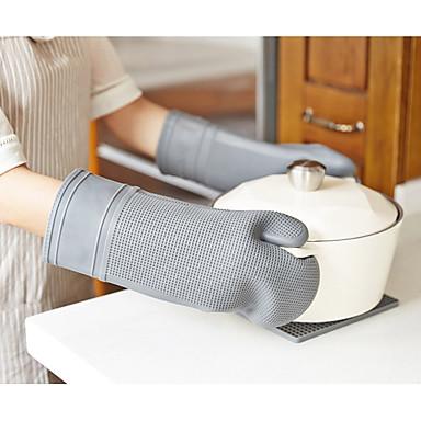 כלי מטבח ג'ל סיליקה נייד מחזיק פוט & תנור מיט 1pc
