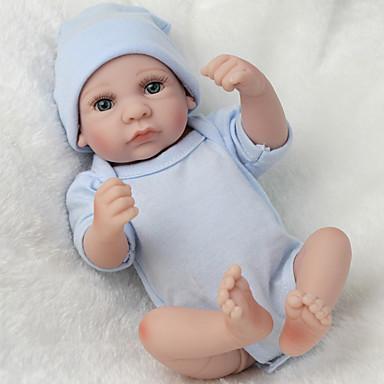 hesapli Oyuncaklar ve Oyunlar-NPKCOLLECTION NPK DOLL Yeniden Doğmuş Bebekler Bebek 12 inç Tam Vücut Silikon Silikon Vinil - canlı Tatlı El Yapımı Çocuk Kilidi Non Toxic Sevimli Kid Genç Erkek / Genç Kız Oyuncaklar Hediye / CE