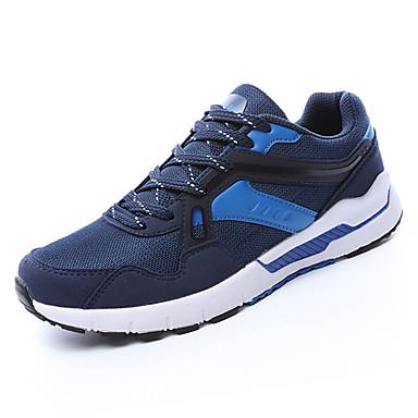 בגדי ריקוד גברים טול אביב / סתיו נוחות נעלי אתלטיקה ריצה כחול כהה / סגול / שחור אדום