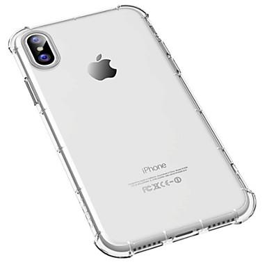 מגן עבור Apple iPhone X עמיד בזעזועים שקוף רך ל
