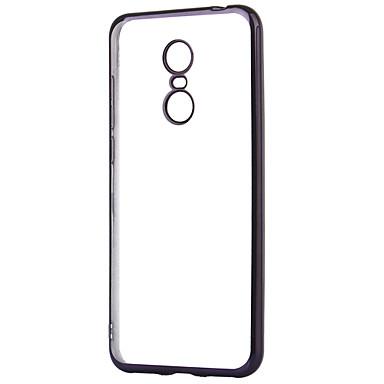 ASLING מגן עבור Xiaomi Redmi 5 Plus ציפוי / שקוף כיסוי אחורי אחיד רך TPU ל Xiaomi Redmi 5 Plus