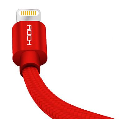 תאורה קלוע / תשלום מהיר כבל iPhone ל 100 cm עבור ניילון