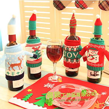 חג מולד / Party טֶקסטִיל קישוטי חתונה חופשה / נושא אגדות / רומנטיקה סתיו / חורף