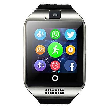 baratos Relógios Homem-Homens Mulheres Relógio Esportivo Relógio inteligente Relogio digital Digital Silicone Preta Bluetooth Controlo Remoto GPS Digital Casual Quadrado Fashion - Preto Branco Prata / Cronômetro