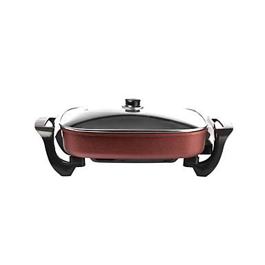 גריל ברביקיו חשמלי סגסוגת אלומיניום מגנזיום תרמי Cookers 220 V 1500 W מכשיר מטבח