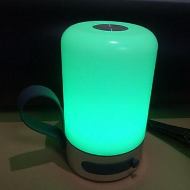 1pc LED לילה אור מובנה Li-Battery מופעל / נתב USB עמיד במים / נטענת / Spottivalo / גע בחיישן