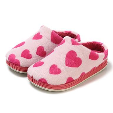 בנות נעליים פליז חורף נוחות / נעליים מגולפות כפכפים & כפכפים ל פוקסיה / TR