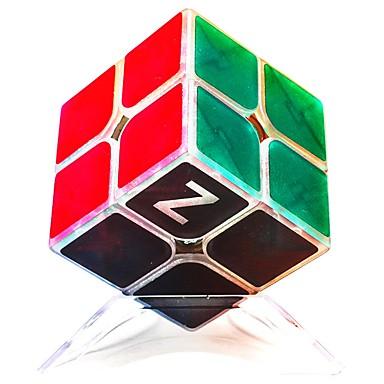 קוביה הונגרית z-cube קוביית זוהר זוהרת 2*2*2 קיוב מהיר חלקות קוביות קסמים קוביית פאזל הפגת מתחים וחרדה Office צעצועים במשרד זוהר בחושך זוהר בחושך בגדי ריקוד ילדים צעצועים יוניסקס מתנות