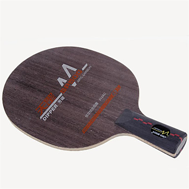 DHS® Dipper SP500 CS Ping Pang/מחבטי טניס שולחן לביש עמיד עץ סיבי פחמן 1