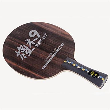 DHS® GT9 FL Ping Pang/מחבטי טניס שולחן לביש עמיד עץ סיבי פחמן 1