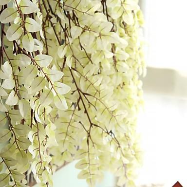 פרחים מלאכותיים 1 ענף סגנון מינימליסטי / פסטורלי סגנון צמחים סל פרח