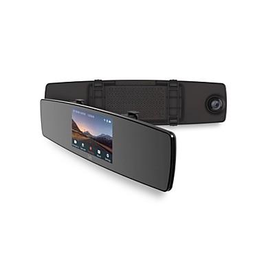 YI 1280 x 720 ראיית לילה רכב DVR 140 מעלות זווית רחבה 4.3 אִינְטשׁ מראה דש קאם עם WIFI / ראיית לילה / G-Sensor רכב מקליט / רמקול מובנה