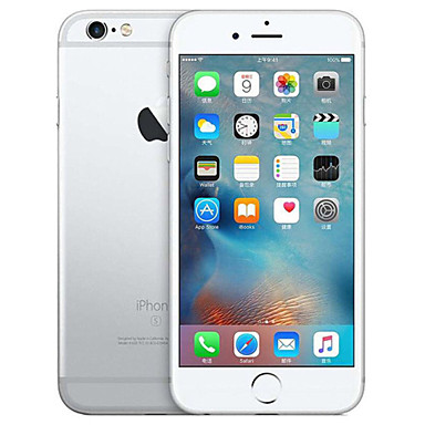 Apple iPhone 6S Plus A1699 / A1687 5.5 אִינְטשׁ 16GB טלפון חכם 4G - משופץ(כסף)